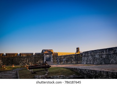 San Juan de Ulua Fort in Veracruz Mexico