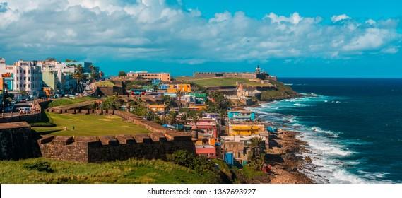 San Juan fort, Puerto Rico, Caribbean Sea