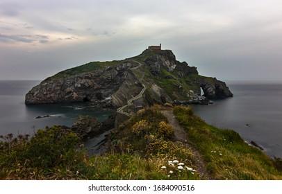 San Juan of Gaztelugatxe in the Basque Country, Spain