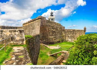 San Juan, Puerto Rico at Castillo San Felipe del Morro.