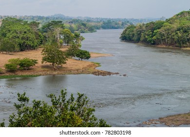 San Juan river near Ell Castillo village, Nicaragua