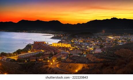 San Juan,Spain night scape