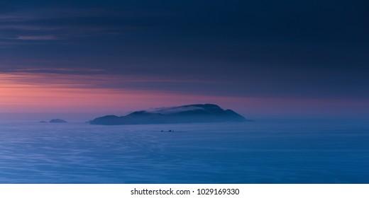 San Lorenzo Island, in Lima, Peru.