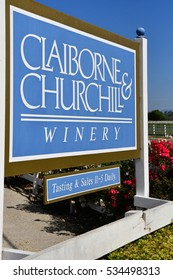 San Luis Obispo, USA - july 15 2016 : the Claiborne and Churchhill winery
