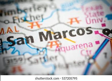 San Marcos. Texas. USA