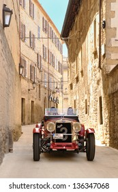 SAN MARINO RSM - MAY 18: Red 1930 OM 665 SS takes part to the 1000 Miglia 2012, on May 18, 2012 in San Marino