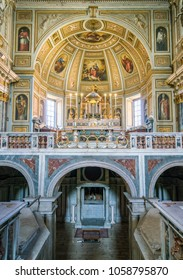 San Martino ai Monti Church in Rome, Italy. March-25-2018