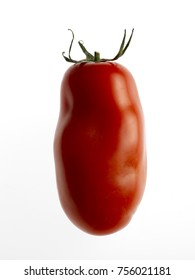san marzano red tomato on white background 03