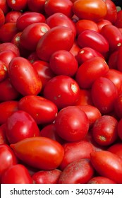 San Marzano tomatoes are ready to make sauce from italy