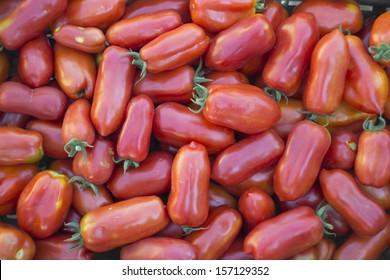 San Mazano tomatoes