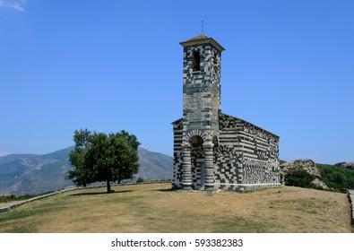 San Michele murato church, Corsica.