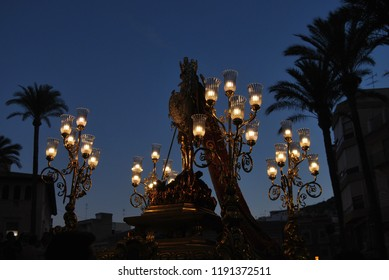 San Miguel at the Festivities of San Miguel de Llíria, Valencia, Spain