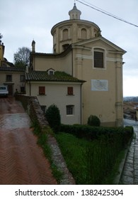 San Miniato. Village of Pisa in Tuscany. Italy - Shutterstock ID 1382425304