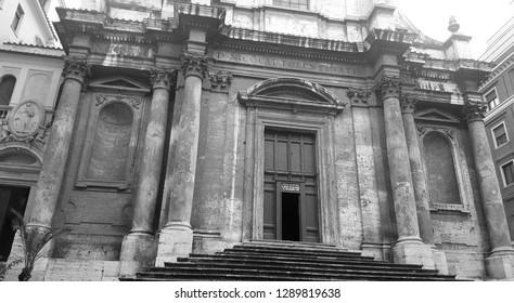 San Nicola da Tolentino agli Orti Sallustiani church exterior