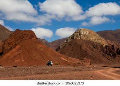 San Pedro Atacama, Atacama, Chile; 020718: Crossing the Rainbow Valley