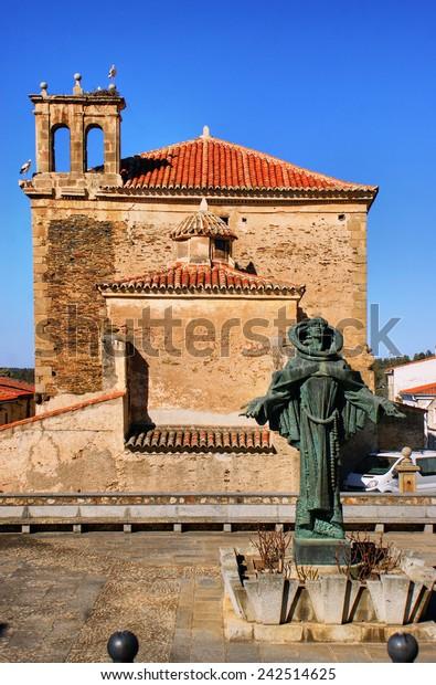 San Pedro de Alcantara statue in Spain