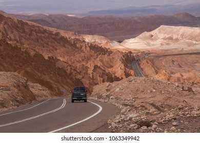 San Pedro de Atacama, Atacama, Chile; 020718: Entrance to San Pedro de Atacama city