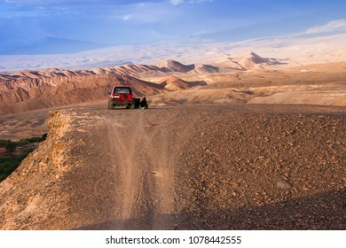San Pedro de Atacama, Atacama, Chile; 020818: Relax over the mountain
