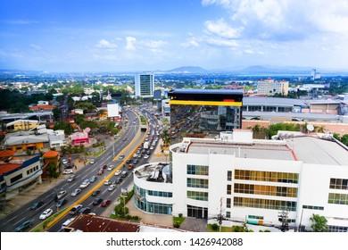 San Pedro Sula City in Honduras