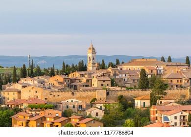 San Quirico d'Orcia a picturesque Italian village