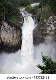 San Rafael waterfall - the tallest in Ecuador