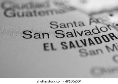San Salvador. Central America.