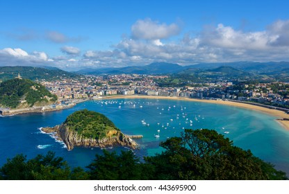 San Sebastian in the Basque Country, Spain