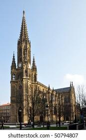 San Sebastian Cathedral / Donostia