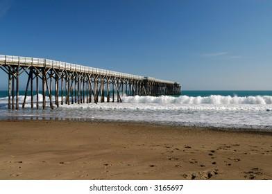 San Simeon Pier - San Simeon, California