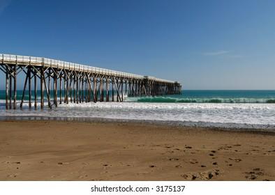 San Simeon Pier - William Randolph Hearst State Beach