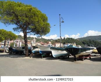 San terenzo. Lerici. San terenzo. Lerici. View of the village