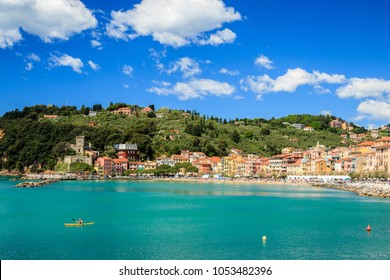 San Terenzo village, Cinque terre, Italy, Europe. San Terenzo is located in Gulf of Poets, in the Lerici municipality.