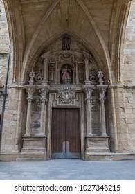 San Vicente Church in San Sebastian-Donostia