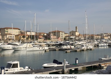 San Vincenzo harbor; a coastal town on the shores of the Thyrranean sea, is one of the best place of the Etruscan Coast.