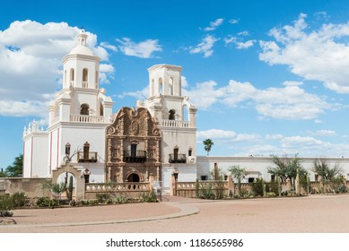San Xavier del Bac mission, Tucson Arizona