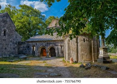 Sanahin Medieval Monastery in Northern Armenia