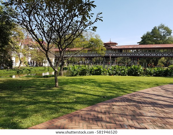 Sanamchandra Palace,Nakhonpathom Thailand