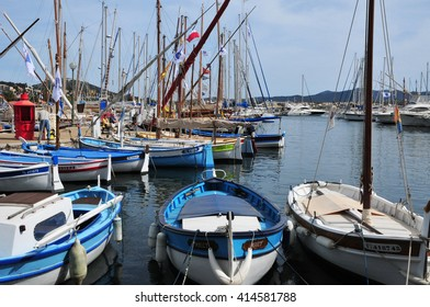Sanary sur Mer, France - april 20 2016 : boats in the port