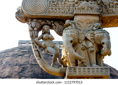 Sanchi Stupa, also written Sanci, is a Buddhist complex, famous for its Great Stupa, on a hilltop at Sanchi Town in Raisen District of the State of Madhya Pradesh