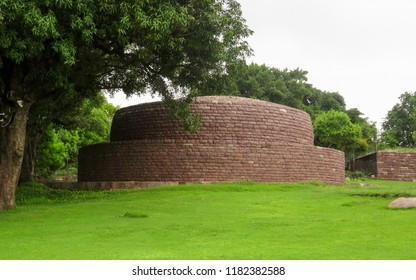 Sanchi/Madhya Pradesh/India-August 12,2015.The great Stupa at Sanchi ,built by Maurya dynasty.