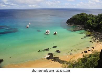Sancho Beach at Fernando de Noronha Brazil