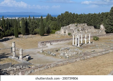 The sanctuary of Asklepius (Asklepieion or Asclepeion) at Kos island in Greece.