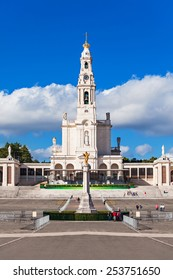 The Sanctuary of Fatima, which is also referred to as the Basilica of Our Lady of Fatima, Portugal
