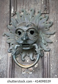 The Sanctuary Knocker at the entrance to Durham Cathedral in England.
