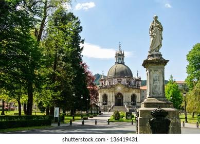 The Sanctuary of Loyola (Gipuzkoa, Spain)