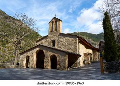 Santuario de Meritxell en Andorra.
