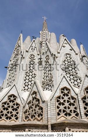 af1f67e83c Sanctuary Montserrat Montferri Alt Camp Tarragona Stock Photo (Edit ...