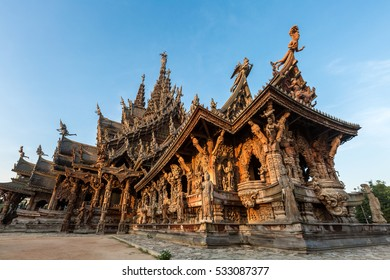 Sanctuary of Truth at Pattaya Thailand