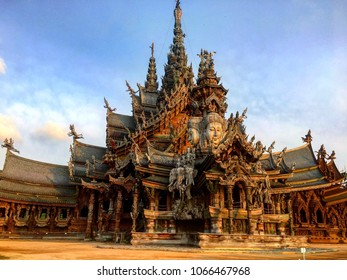 Sanctuary of Truth, Thailand.