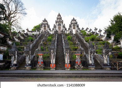 The sanctum of Temple of Lempuyang Luhur, one of the most regarded temples of Bali, Indonesia